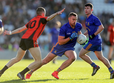 Action from last year's Cork county final between St Finbarr's and Duhallow.