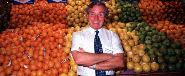 Feargal Quinn pictured in one of his stores.