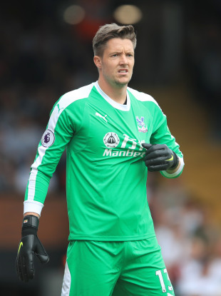 Crystal Palace goalkeeper Wayne Hennessey.