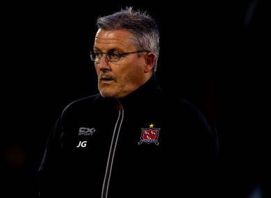 John Gill, Dundalk's first-team coach.