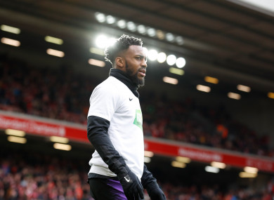 Tottenham's Danny Rose was subjected to racial abuse recently.