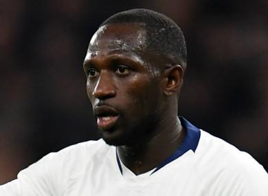 Tottenham midfielder, Moussa Sissoko.