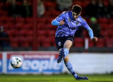 Neil Farrugia was on target for UCD at Tolka Park.