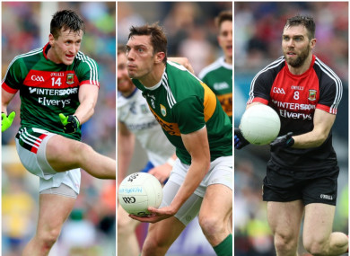 O'Connor, Moran and O'Shea are all aiming for comebacks soon at inter-county level.