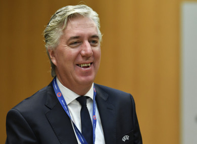 Delaney is also on the Uefa board.