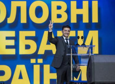 File photo of Volodymyr Zelensky.