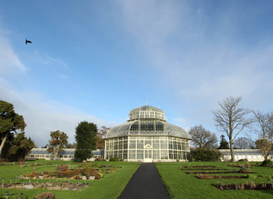 File photo of the green house in the Botanic Gardens.