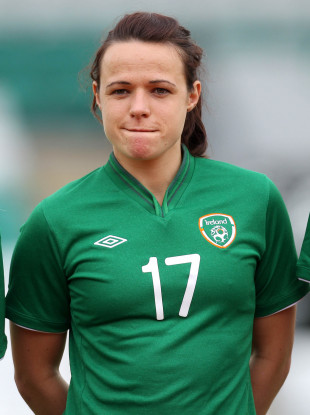 Áine O'Gorman earned 100 caps for Ireland.