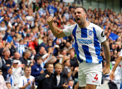 Shane Duffy was recently named Brighton's Player of the Season.