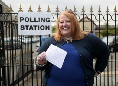 Alliance party leader Naomi Long.