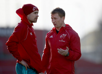 Jones and Flannery are leaving Munster this summer.