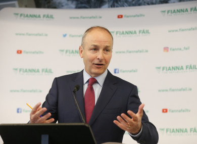 Micheál Martin said the majority understand the decision he made to extend the confidence and supply deal with Fine Gael.