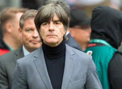 Joachim Loew will set out the upcoming qualifiers.