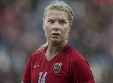 Ada Hegerberg of Lyon and Norway.