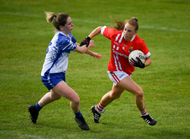 Cork's Aisling Hutchings on the ball.