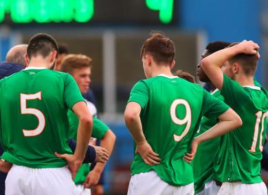 Ireland's U17 squad.