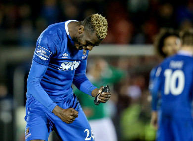 Akinade scored for Waterford's third to secure a point.