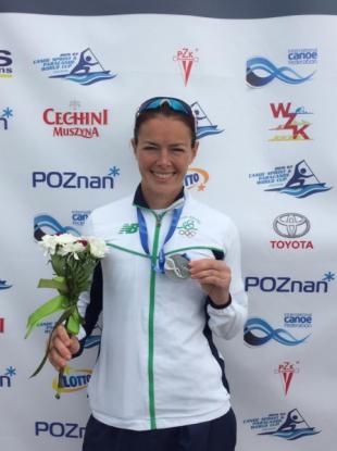 Silver for Ireland: Jenny Egan.