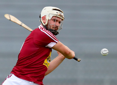 Killian Doyle: 1-12 powered Westmeath to victory (file photo).