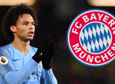 Leroy Sane could be on his way to Munich.
