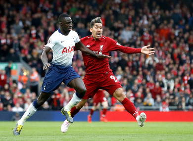 Liverpool beat Tottenham 2-1 the last time the sides met.