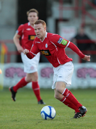 Lorcan Fitzgerald is in his third spell at Shels.