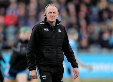Dublin manager Mattie Kenny.