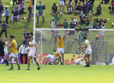 Bryan McMahon's late goal sealed the deal.