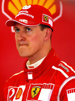 Michael Schumacher (file pic).