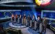 There were eight candidates in the studio on Tuesday night.