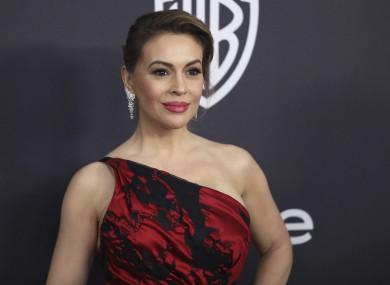 Charmed actress Alyssa Milano.
