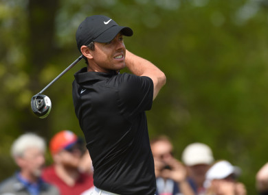 Rory McIlroy looks set to take part in the weekend's action at Bethpage.