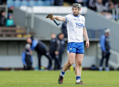 Philip Mahony will miss Waterford's next two Munster round-robin games.