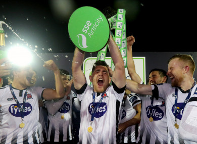 If Dundalk retain their title, they will face Linfield in the inaugural Unite the Union Champions Cup.