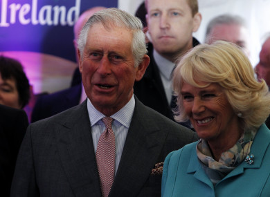 Prince Charles and his wife the Duchess of Cornwall.