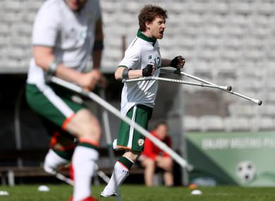 Ireland international and Cork City star Ruairi Murphy.