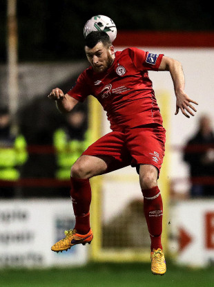 Ryan Brennan was on target for Shelbourne (file pic).