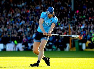 Sean Moran scored 2-1 for Dublin against Kilkenny.