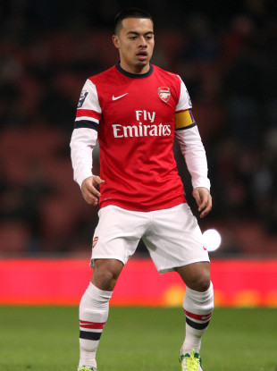 Nico Yennaris at Arsenal in 2013.
