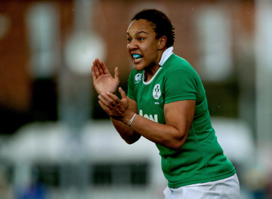 Sophie Spence will be linking up with Penclawdd RFC.