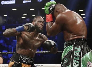 1751b57c59ae Deontay Wilder's next fight will be... a rematch against Luis Ortiz