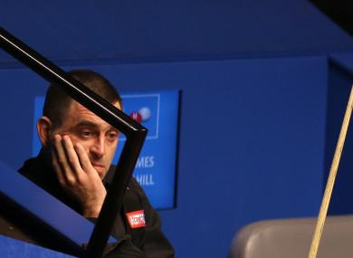 Snooker legend, Ronnie O'Sullivan.