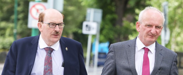 Gerry O'Dwyer, HSE hospital manager and Bernard Gloster, Chief Officer at Health Service Executive