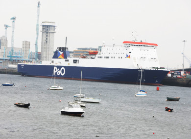 File photo of Dublin Port