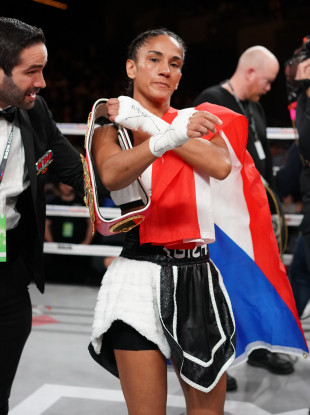 Amanda Serrano is set to face Katie Taylor in two fights' time, but she wants more money than she signed on for.