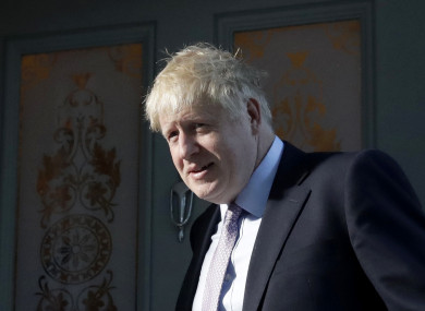 Frontrunner Boris Johnson look set to lead into the final two.