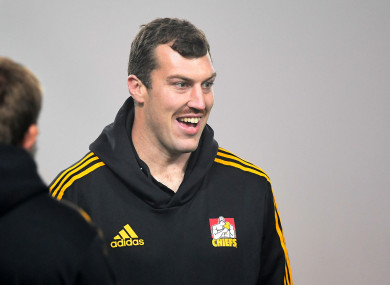 Brodie Retallick will leave the Chiefs behind until 2021.