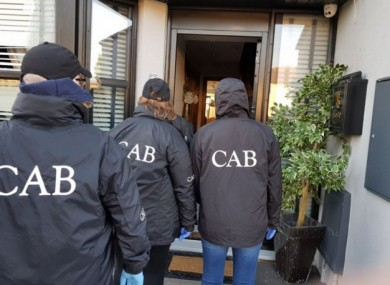 File image CAB officers
