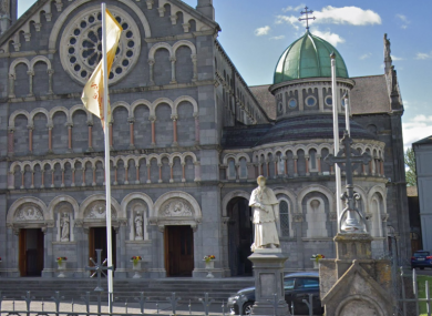 The Cathedral of the Assumption in Thurles (taken before the damage to the statue)
