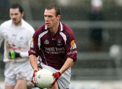 Cormac Bane on the ball in 2007.